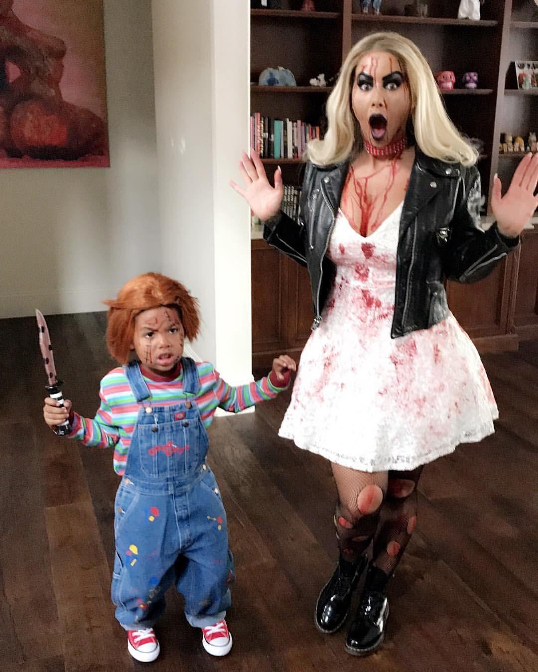 Chucky ️'s Tiffany FOREVER!!!! happyhalloween 🎃