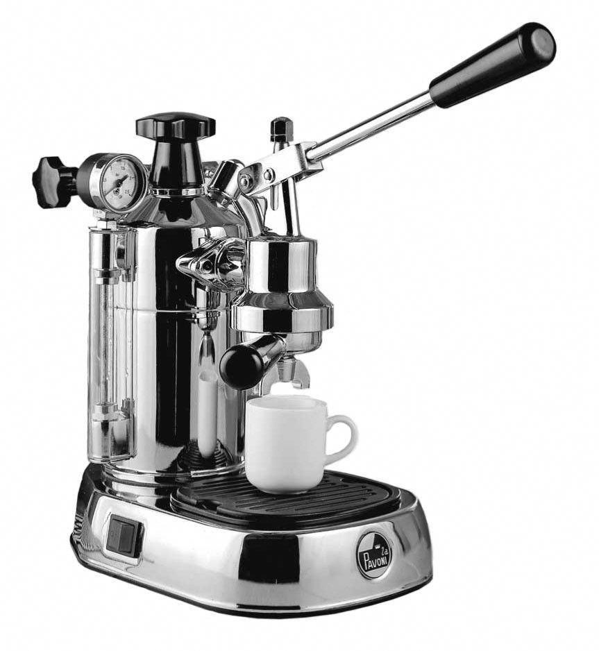 La pavoni professional espresso machine chrome cup