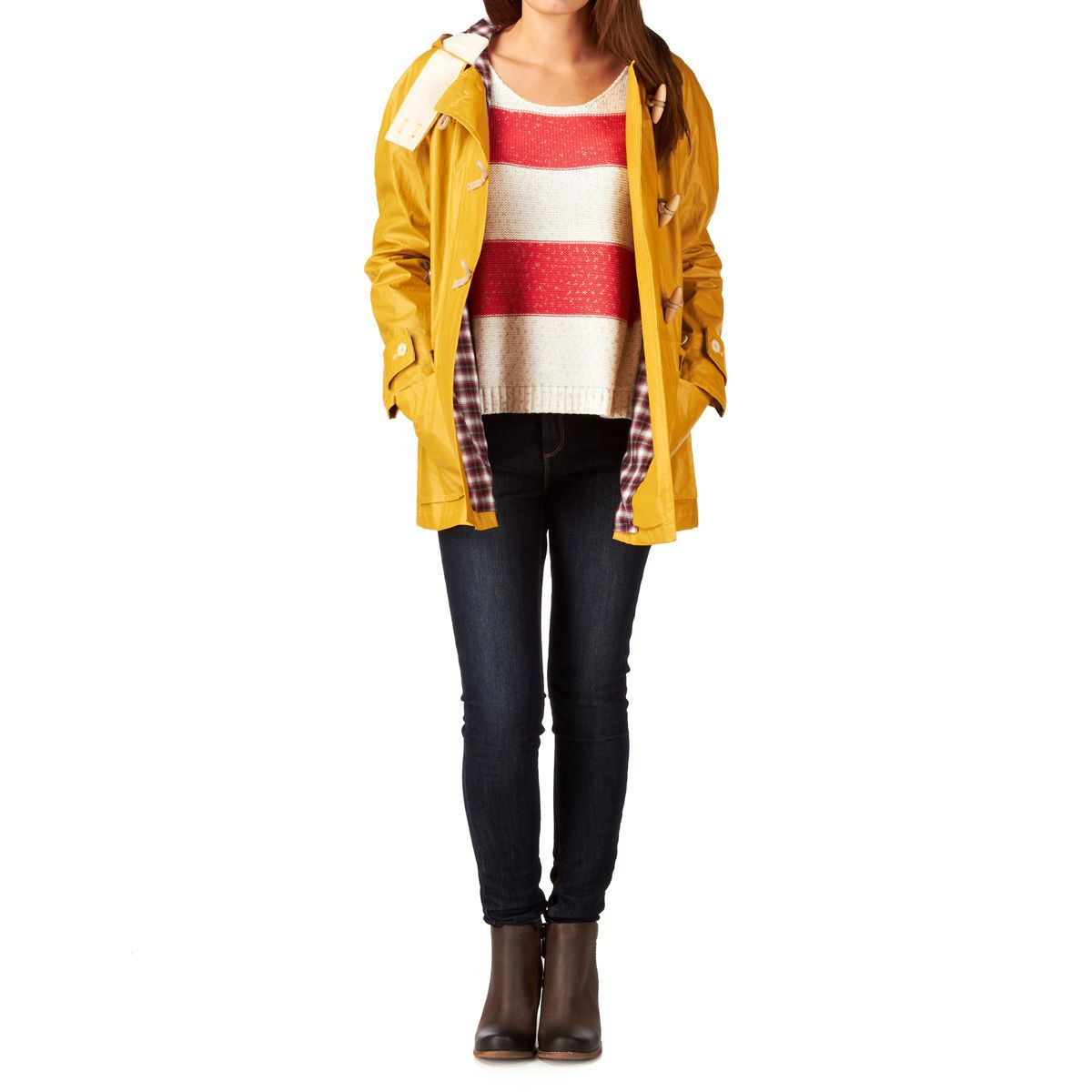 Gloverall Jackets - Gloverall Duffle Jacket - Yellow | outerwear ...