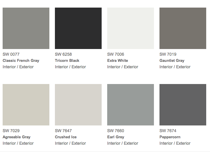 Earl Gray The Reasoned Colors From Sherwin Williams