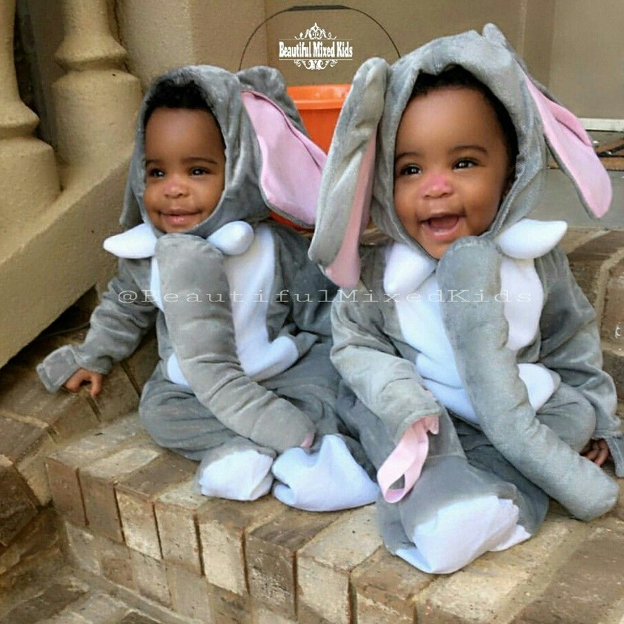 African Twin Boys Images