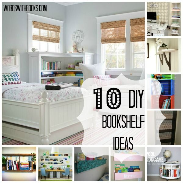 Tutorials And Projects To Create Your Own Book Storage