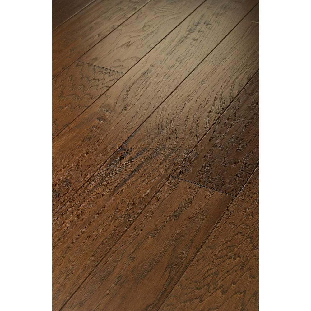 Shaw western hickory weathered 3 8 in thick x 3 1 4 in for Hardwood flooring 8 wide