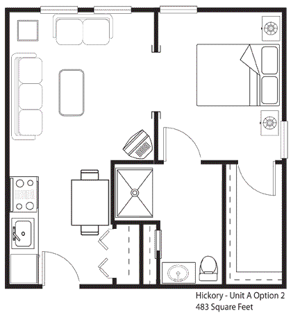 400 sq ft apartment floor plan - Google Search | House plans ...