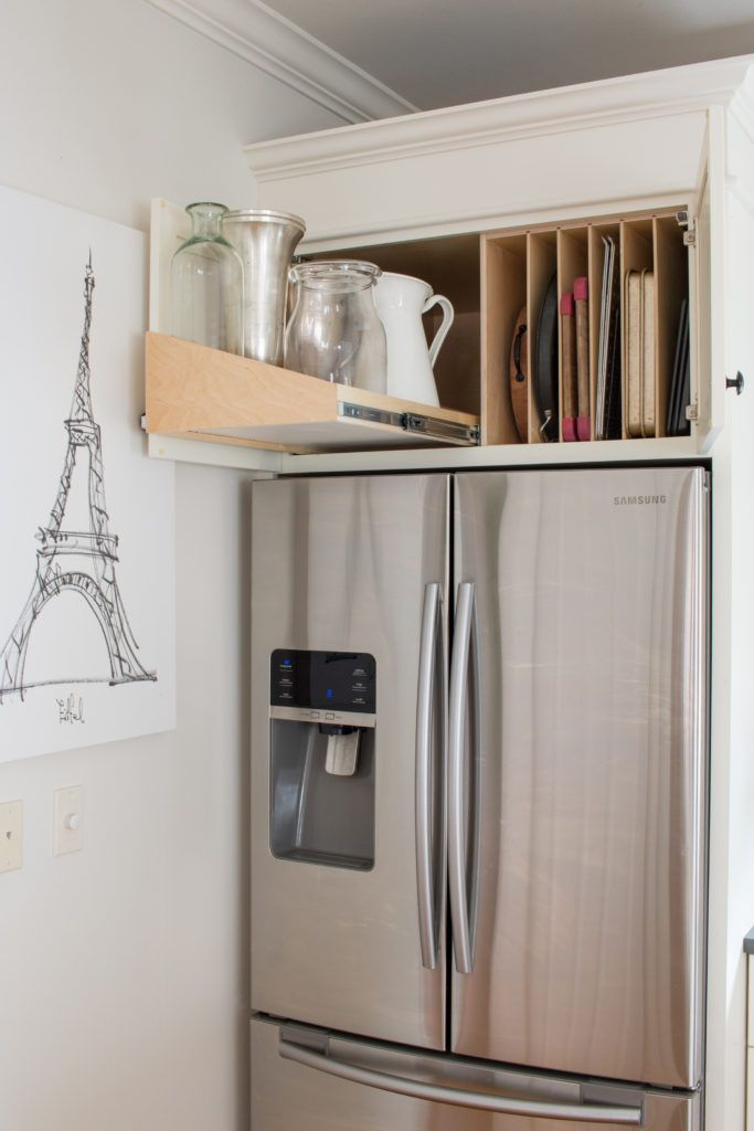 Kitchen Organization with ShelfGenie - Saw Nail and Paint