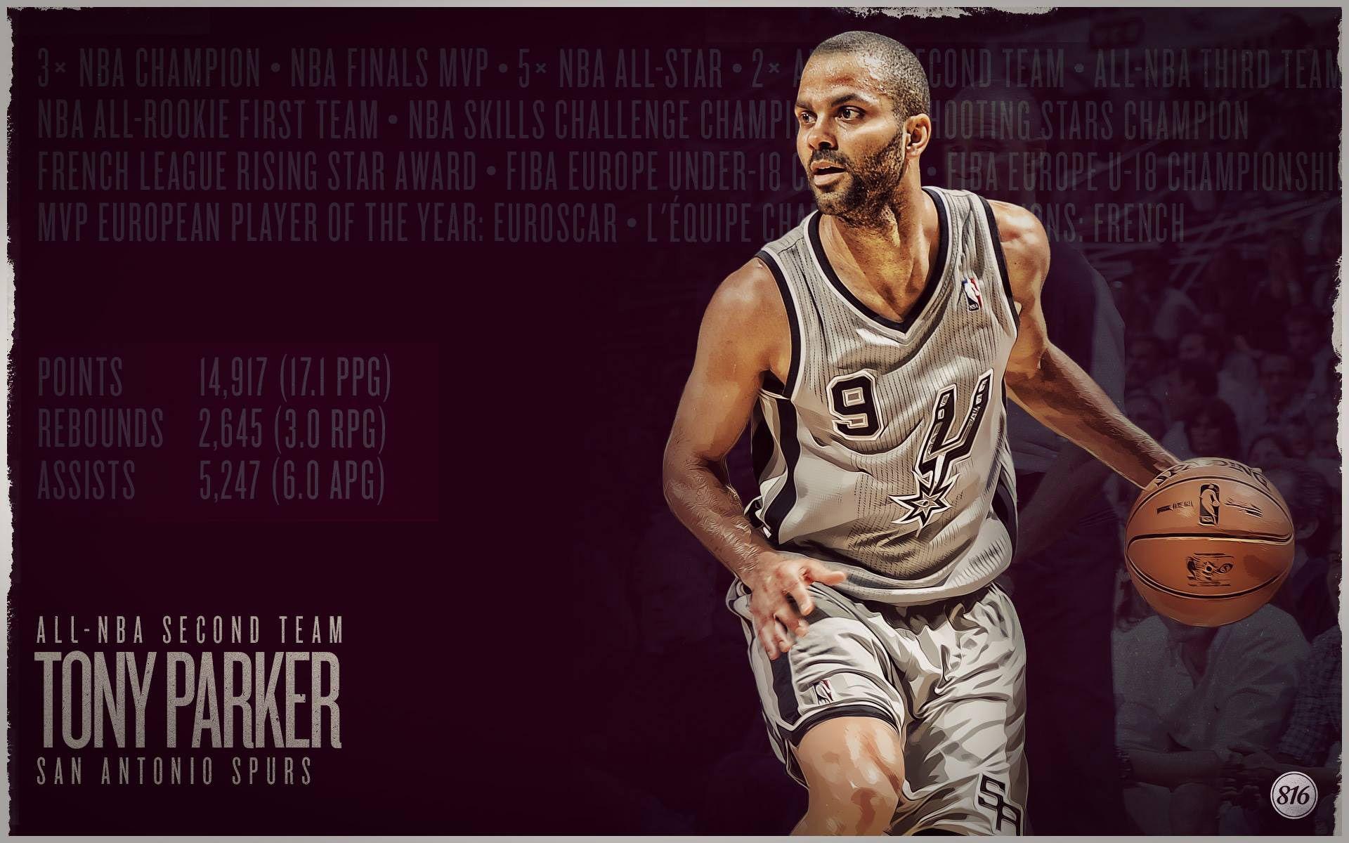 a7c3eb1b7 Tony Parker Desktop Wallpaper - San Antonio Spurs