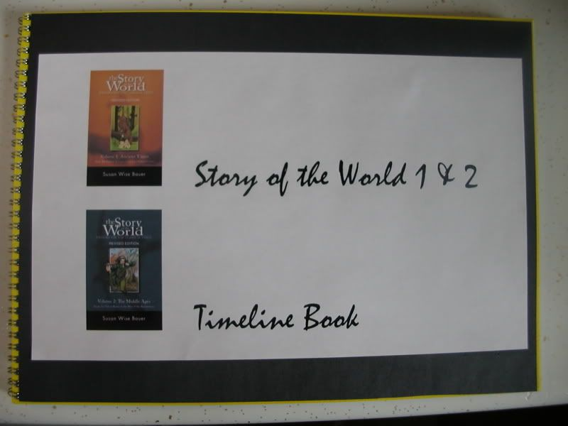 These Are Sample Pictures From My Story Of The World Timeline Book