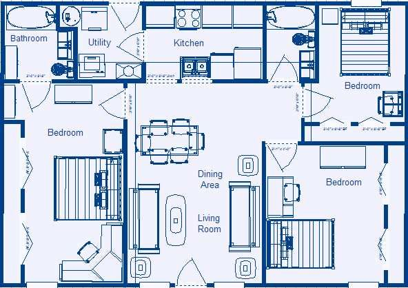 Low Income Residential Floor Plans By Zero Energy Design Floor Plans House Floor Plans House Layout Plans