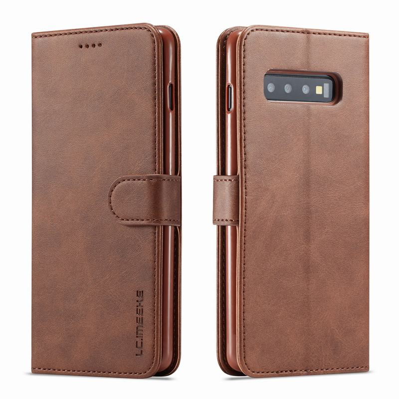 Flip Case for Samsung Galaxy S10e Compatible with Samsung Galaxy S10e Brown PU Leather Wallet Cover