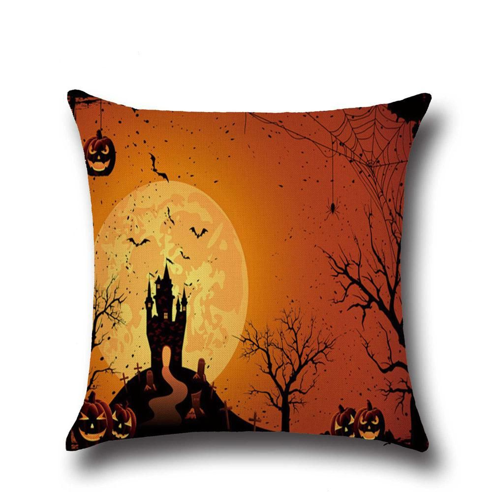 Hot halloween decorative cotton linen throw pillow case cushion home hot halloween decorative cotton linen throw pillow case cushion home cafe party us 499 gumiabroncs Image collections