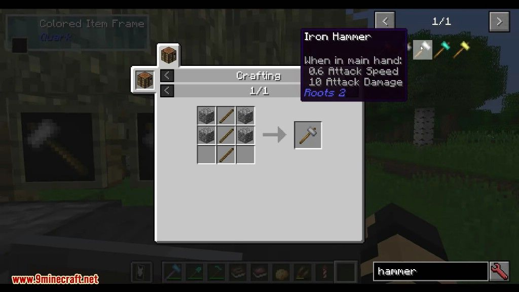 Roots Mod Crafting Recipes 3 | minecraft | Crafting recipes