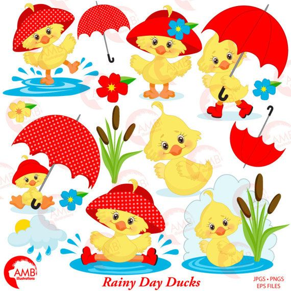 duck clipart umbrella clipart spring clipart april showers rh pinterest ca april showers clipart black and white april showers clipart free