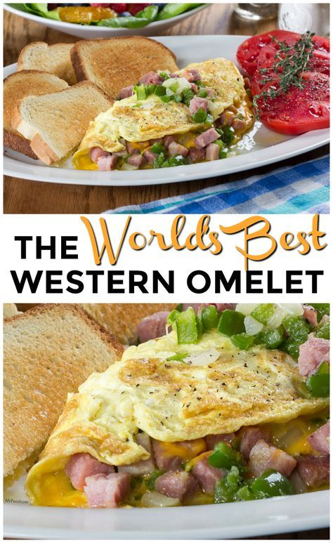 The World's Best Western omelet is an over-sized breakfast beauty, and a morning must-have!