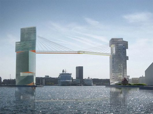 """""""The LM Project"""", Copenhagen, Denmark  Competition won by Steven Holl Architects"""