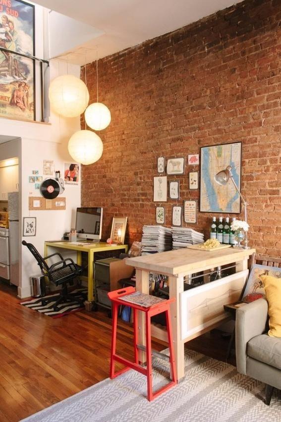 Lamparas departamento de soltera decoracion decoraci n for Lamparas para apartamentos pequenos