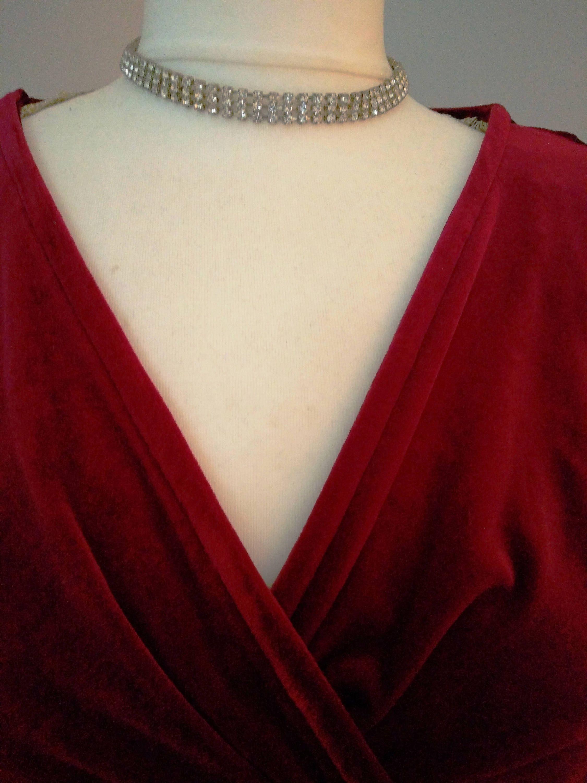 fbf91f86f9963 Wedding necklace, vintage jewelry, vintage choker, vintage wedding ...