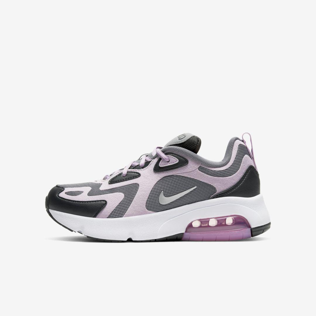 Nike Air Max 200 Big Kids' Shoe (Off Noir) in 2020 | Nike