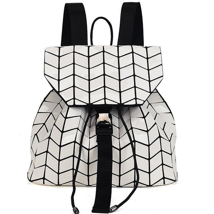 Geometry Sequins Folding Backpack