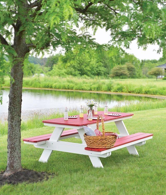 A Durable Kloter Farms Picnic Table Allows You To Venture