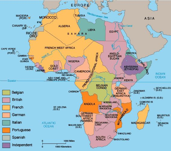 Photo The Scramble for Africa Imperialism in Africa Unit V
