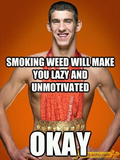 Phelps Smoking Marijuana