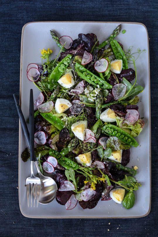 Spring market salad | Scaling Back