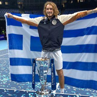 congrats steftsitsipas historymaker atp tour cup nov 17