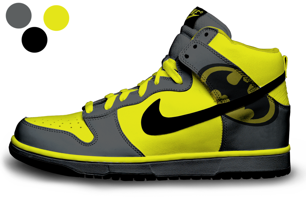 I made these using Photoshop CS4 and a downloadable PSD (Link for the PSD  is · Nike KicksCustom ShoesBatman ...