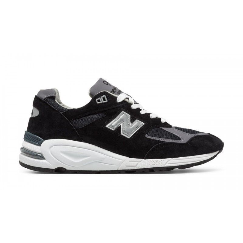 brand new 8d93e e42d2 New Balance 990v2 Heritage M990BK2 Made In USA Suede Black ...