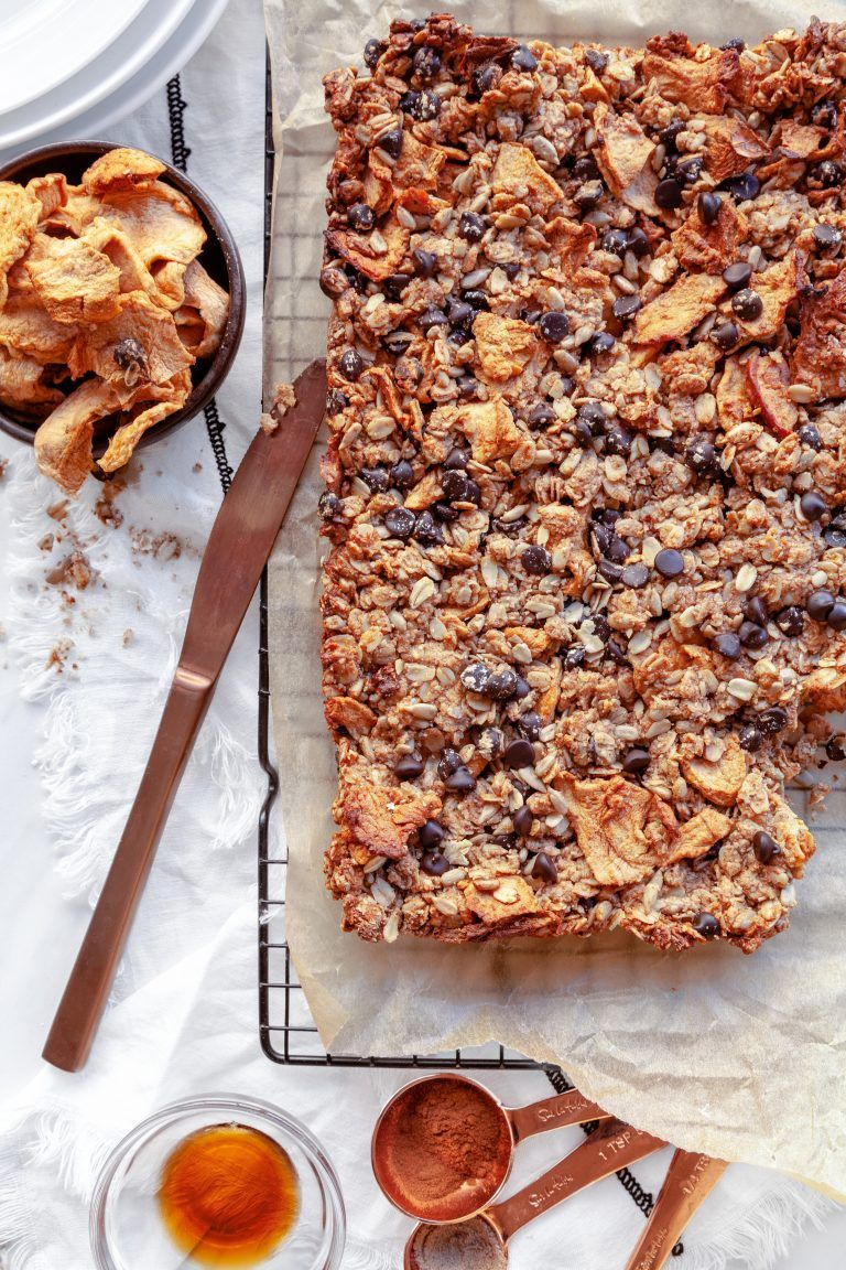 Granola squares gluten free dairy free recipe