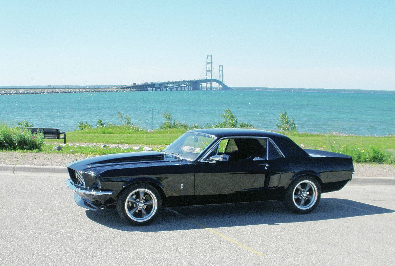 Cool 1967 Ford Mustang Coupe Blue Belle By Ron Heal Ford
