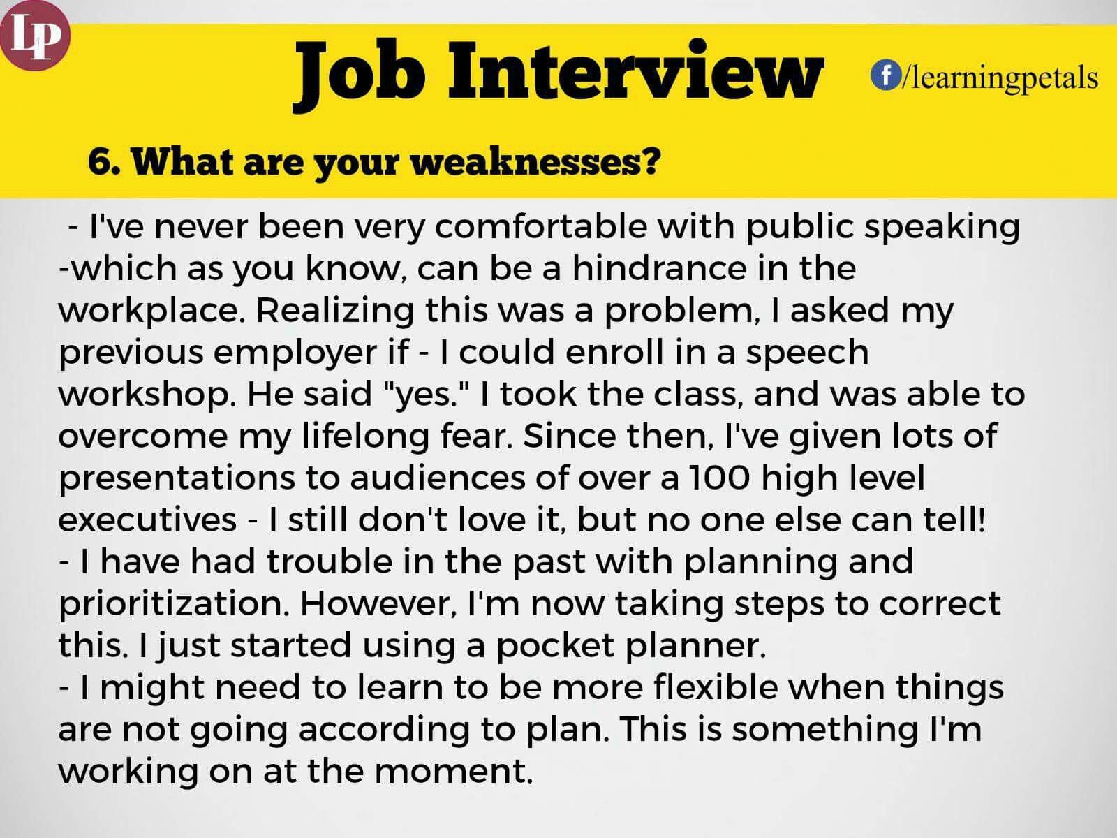 Jobinterviewencouragement