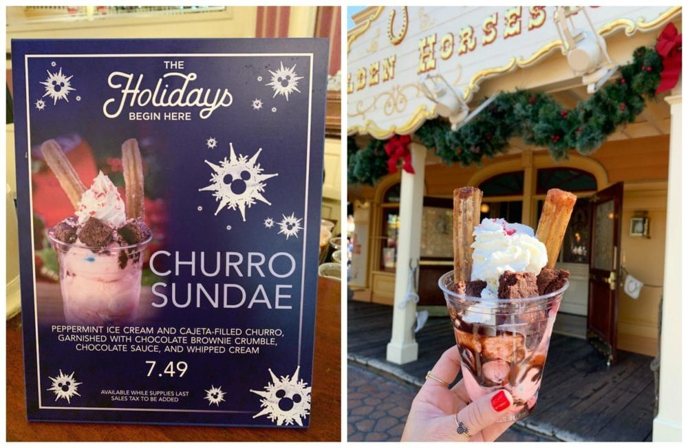Best Disneyland Food Holidays 2018 #disneylandfood