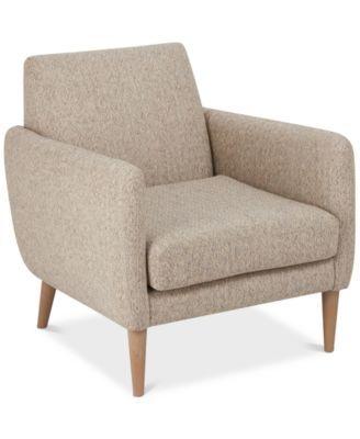 Davey Accent Chair Quick Ship Macys Com Brown Accent