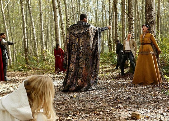 The intensity is REAL.  #Oncers, prepare yourselves for an epic 2-hour event this Sunday on #OnceUponATime.