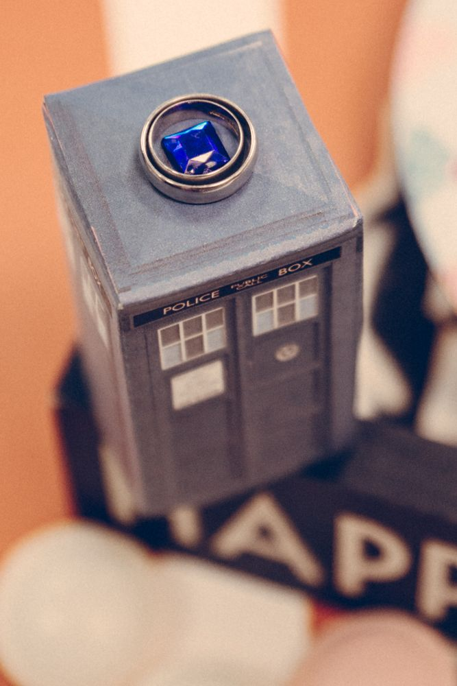 Doctor Who Wedding On Bonfire Night In Yorkshire Doctor Who Tardis