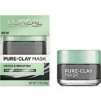 L'Oréal Detox & Brighten Clay Mask | *Ulta* | Pure clay mask