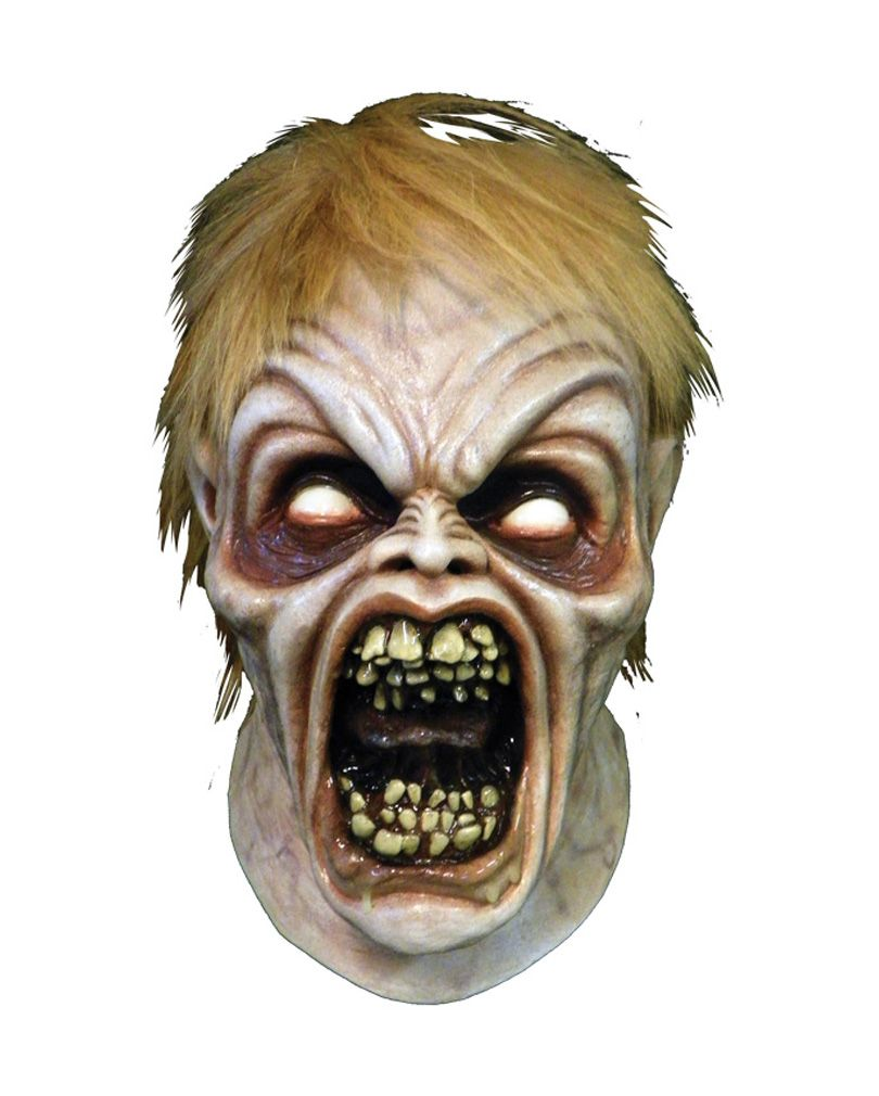 evil dead maske ed deluxe | halloween frightmares and fun