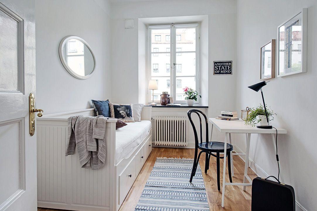 Apartamento n rdico chic dormitorios juveniles for Decoracion nordica dormitorio