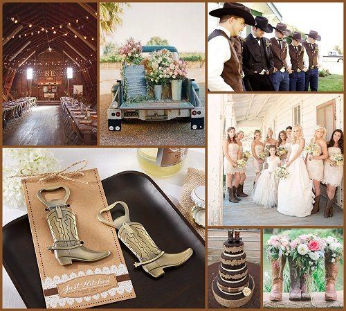 Rustic Western Wedding Ideas from HotRefcom  Rustic