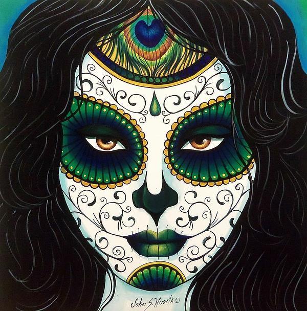 Pin by Rosaria Stevens on Dia De Los Muertos Art Pinterest Copy - copy dia de los muertos mask coloring pages