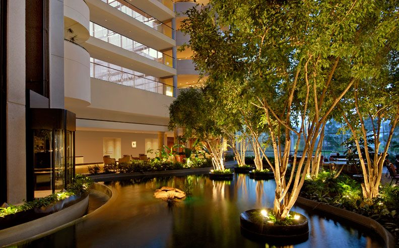 Peaceful Lobby Water Garden Lobby Gardens