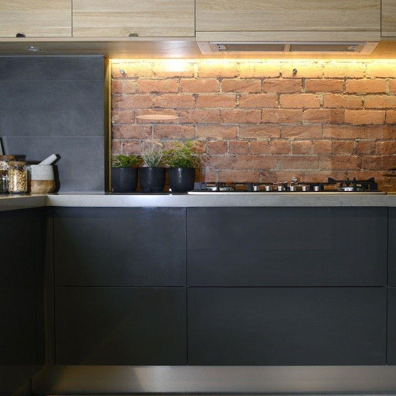 Modern Brick Backsplash Kitchen Ideas: The Block Shop - Channel 9