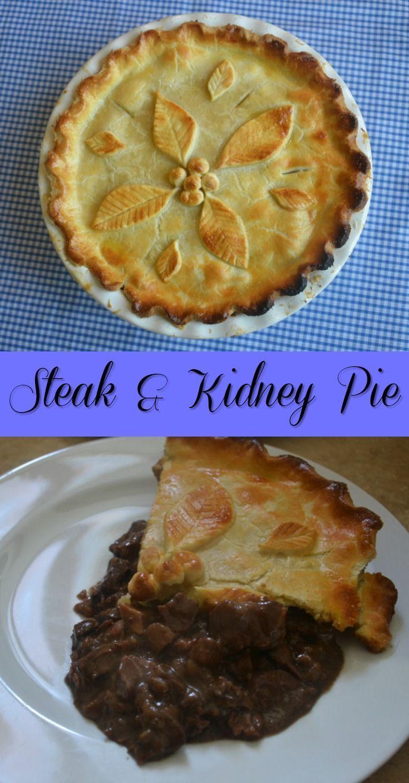 Steak and Kidney Pie | Recipe | Steak and kidney pie, Food ...