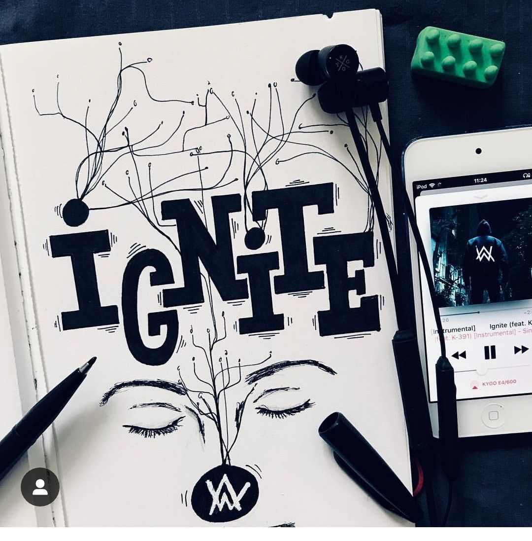 One Touch And I Ignite Ignite Alan Walker Con Imagenes
