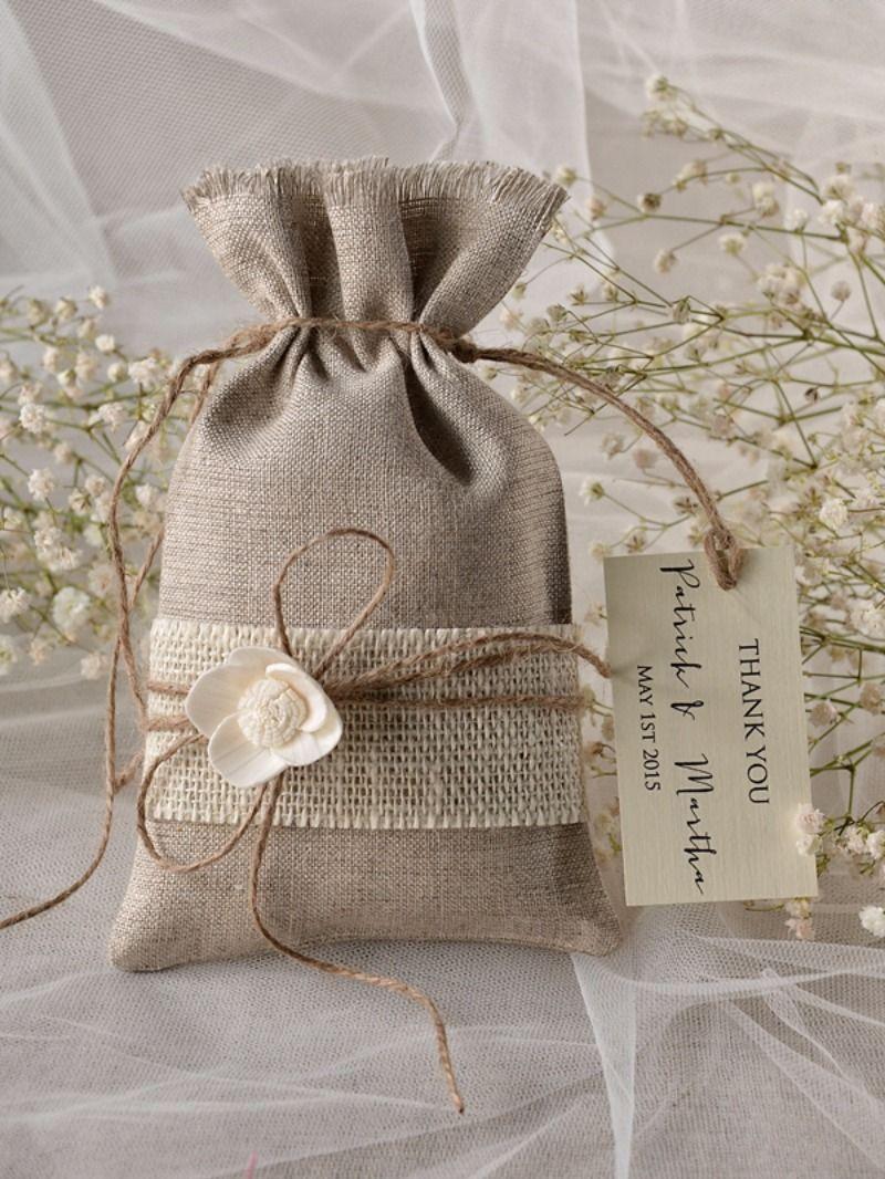 burlap wedding favor bags - HD800×1066