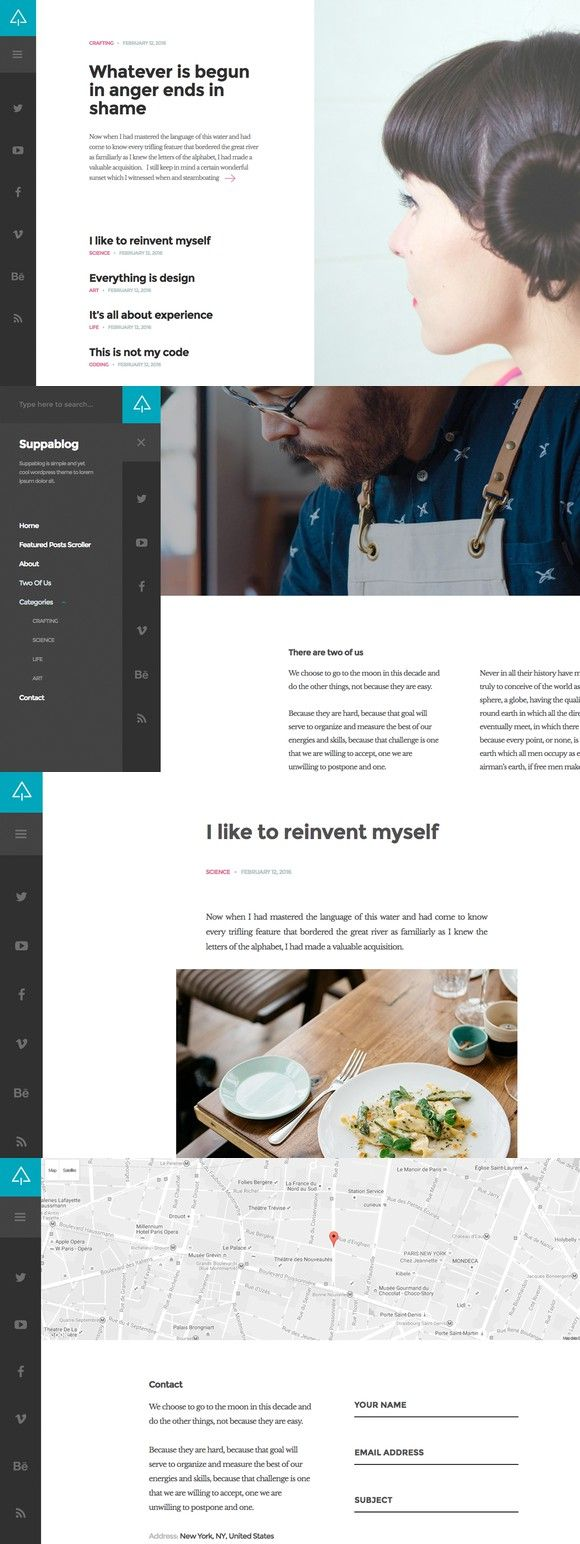 Suppablog WordPress Theme. WordPress Blog Themes. 29.00