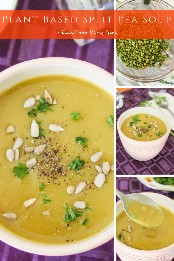 Plant Based Split Pea Soup