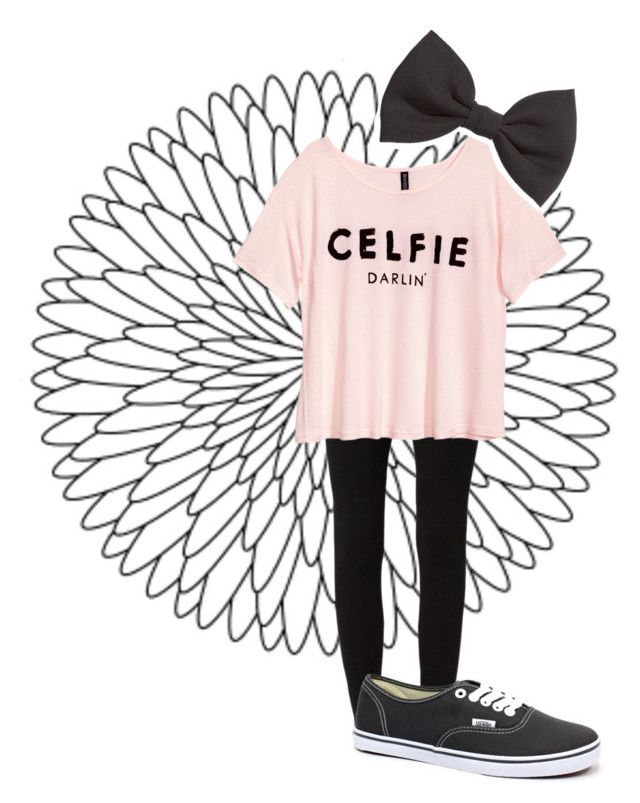 """Celfiè"" by colorful-trends ❤ liked on Polyvore featuring moda, Calando, H&M y Vans"