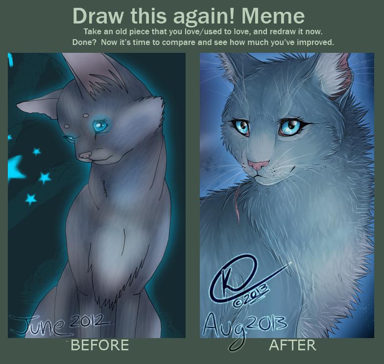 Draw This Again Meme By Graffitimutt On Deviantart Warrior Cats
